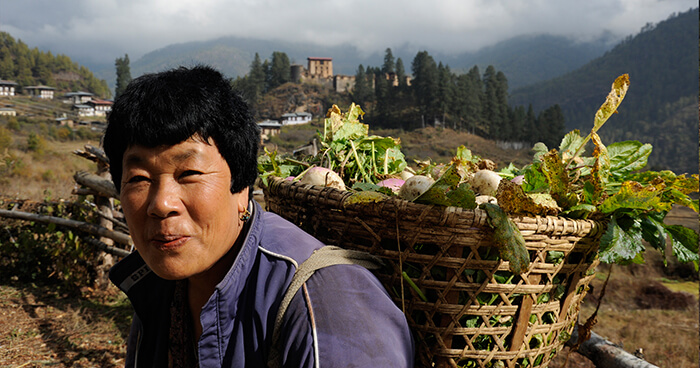 Bhutan aims to have 100% of the population happy