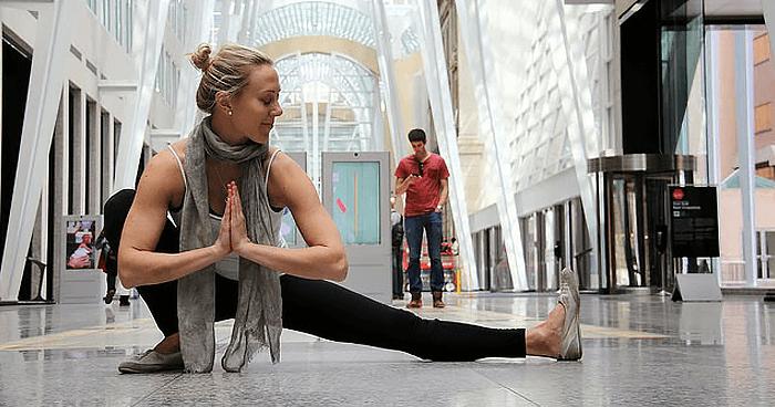 Yoga at work