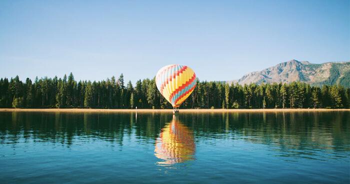 Stay afloat–let go
