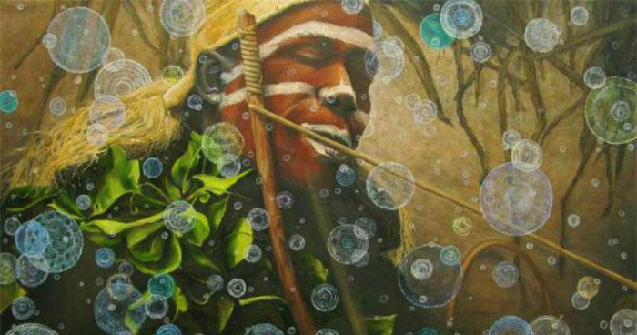 Iboga African shaman